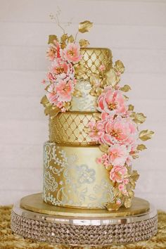 A cake that's almost too pretty to eat.