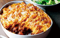 Vegetarian shepherd's pie - a comforting winter-warmer, and a perfecter way to smuggle in more vegetables during the week! From ocado.com #GrowMethod