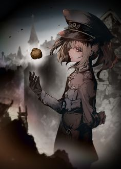 Female Characters, Fantasy Characters, Anime Characters, Anime Military, Military Art, Guerra Anime, Anime Warrior Girl, Manga Anime, Anime Art