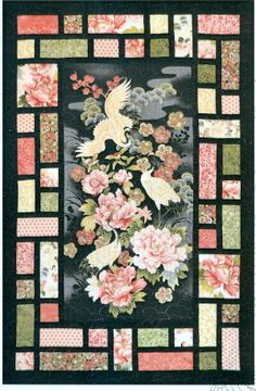panel wall hanging patterns   ... wall hanging or quilt pattern pattern to highlight a favourite panel