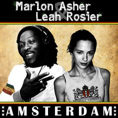 """Hottest dancehall/dub princess Leah Rosier has joined Marlon Asher for an anthem coming from the east side of Amsterdam. Some epic win remixes"" ~ Tropical Bass   ""Schöne Single auf einem soliden Riddim. Die Remixe sind klingen durchdacht und schaffen es, ganz andere Facetten des Songs 'Amsterdam' zu zeigen."" ~ Oleejah   ""Leah and Marlon Asher team up for the anthemic Amsterdam"" ~ Reggaemani"