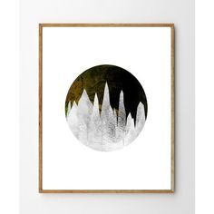 Crystal Cave Nature Art Print, Watercolor Painting Landscape, Crystal... (125 CNY) ❤ liked on Polyvore featuring home, home decor, wall art, giclee painting, crystal home decor, landscape wall art, watercolor wall art and water color painting