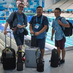 Ready for some serious #Nikon gear? #FINABudapest2017 has kicked off with #diving and #synchro and the official #FINA #photographers were happy to say are all #Nikon pros: Lukas Schulze Tsutomu Kishimoto and Hiroyuki Nakamura. Check out what their kit looks like below and stay tuned for some spectacular shots! Photo  FINA/Nikon/Youp Kruijsdijk Tsutomu Kishimotos kit: Camera Bodies D5 x 3 KeyMission 170 Lenses 10-24mm f/3.5-4.5G ED 24-70mm f/2.8 70-200mm f/2.8 200-400mm f/4 300mm f/4 600mm…