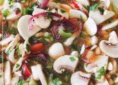 Para esta época de calor un ceviche vegetariano | Revista CiudadYOGA