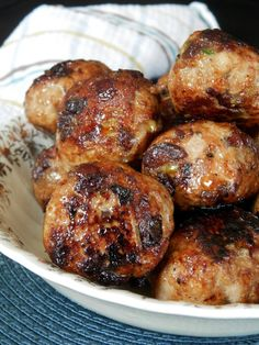 Meatball Recipes, Pork Recipes, Cooking Recipes, What's Cooking, Appetizer Recipes, Dinner Recipes, Tasty Meatballs, One Pot Dishes, Slow Cooker Pork