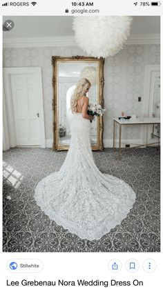 Ivory Bead Nora Feminine Wedding Dress Size 6 (S) Backless Lace Wedding Dress, Wedding Dress Sizes, Wedding Dresses, Wedding Dress Boutiques, Professional Dresses, Bridal Gowns, Stretch Satin, Tea Length, Mermaid