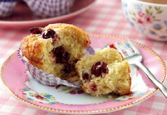 Cherry Almond Cakes #recipe #SweetTooth #win