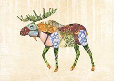 Woodland creatures print series: Gerren Lamson