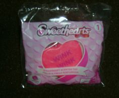 McDonalds Happy Meal Sweethearts Clip-Gloss Strawberry Scented Toy #1, NIP 2017 #McDonalds