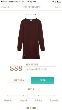 Stitch Fix Item: RD Style Jacquie Knit Dress #stitchfix