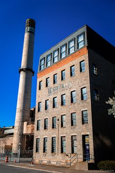 Old flour mill at the High Falls