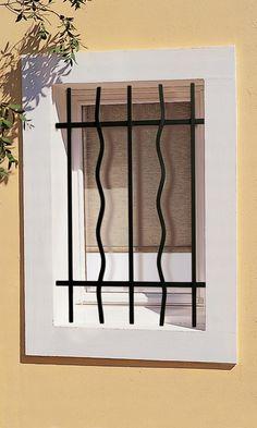 بحث Google Iron Window Grill, Window Grill Design Modern, Grill Door Design, Door Gate Design, Window Design, Iron Windows, Iron Doors, Window Security Bars, Aluminum Screen Doors