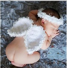 Newborn Baby Girls Boys Crochet Knit Costume Photo Photography Prop Outfits &001