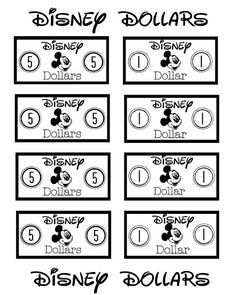"""Family Ever After.: Disney Dollars for Kids- Free Printable. great way for kids to earn """"allowance"""" for souvenirs before a trip to Disney! Mickey Mouse Classroom, Disney Classroom, Classroom Themes, Classroom Expectations, Bilingual Classroom, Classroom Tools, Future Classroom, Disney 2015, Disney Tips"""