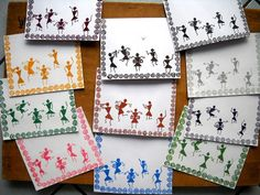 Cards with Warli Art