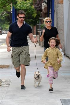 """Hugh Jackman and wife Deborra-Lee Furness decided to adopt after having trouble conceiving. """"From the moment we started the adoption process, all the anxiety went away,"""" the once and (likely) future Sexiest Man Alive explained to the Herald Sun in September. """"I don't think of [kids Oscar, 11, and Ava, 6] as adopted. They're our children. Deb and I are believers in … I suppose you  could call it destiny. We feel things happened the way they are meant to. Obviously, biologically wasn't the way…"""