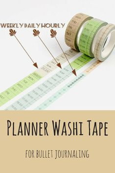 Save your time with these planner washi tapes! :) These are perfect for planners and bullet journaling. #planner #bujo #bujoinspire #washi #tape #washitape #stickers #ad
