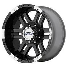 Moto Metal Wheels 951 Black Truck Wheels