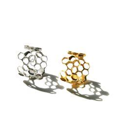 Honeycomb Ring by Ayaka Nishi