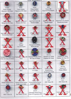 Order Of Merit, Navy Cross, Medal Ribbon, Service Medals, Military Orders, Silver Wings, Buttonholes, Rosettes, Badges