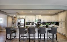 Plenty of space in this gourmet kitchen! http://spr.ly/64998O1lL