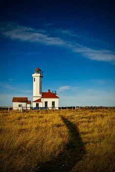 Point Wilson Lighthouse | Fort Worden State Park | Washington | Photo By Dan Mihai
