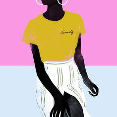 〰 Eternity 〰  .  .  .  .  .  #black #blackgirl #blackgirlmagic #girl #instaart #instagood #inspiration #illustration #illustrationoftheday #digital #shoes #babethlafon #editorial #fashion #picame #iloveillustration #fashionillustrated #blue #illustrator #drawing #artwork #art #artist #fashiondrawing #summer #summervibes #holidays #tropical #illustrationartists