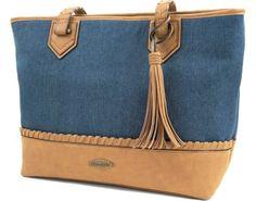Franco Sarto DANNY SHOULDER Franco Sarto, Shoulder Bag, Zip, Denim, Leather, Bags, Fashion, Handbags, Moda