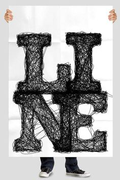 Handmade fonts 5 Typography Showcase: 17 Most Awesome Handmade Fonts