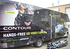 Vehicle Wraps by Monster Image. www.monsterimg.com Van Wrap, Vehicle Wraps, Video Camera, Hd Video, Trucks, Vehicles, Car, Image, Camcorder