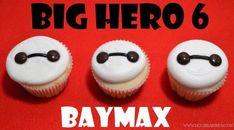 Big Hero 6 cupcakes (diy birthday cake for mom) 6th Birthday Cakes, 6th Birthday Parties, Boy Birthday, Disney Cupcakes, Fun Cupcakes, Big Hero 6 Party Ideas, Disney Party Decorations, Big Hero 6 Baymax, Disney Food