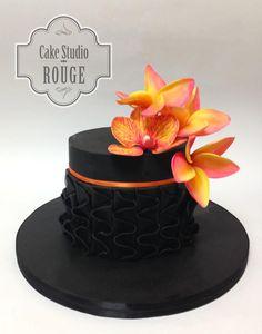 Orange fantasy  - Cake by Ceca79