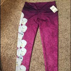 Noli Teeki Yoga Leggings. NWT Size XL Noli Teeki Orchard Print yoga leggings. New With Tags. Never worn! Brought off another posher but they were too big. Noli Pants Leggings