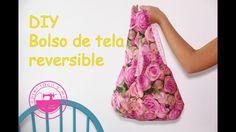 Te enseño cómo coser un bolso reversible de tela muy cómodo de llevar y muy fácil de confeccionar. Patrones/moldes y telas recomendadas en: http://www.menudo...