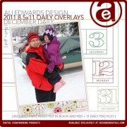 2011 december daily overlays $4.19-5.99  already bought em!