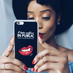 """Limited Edition """"I Take Selfies In Public"""" Phone Case — Jei Monroe Taking Selfies, Dear Future Husband, Mind You, Take My, Iphone Cases, Public, Jokes, Shit Happens, Funny"""