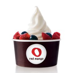 Sprinkle a packet of True Lemon to Red Mango's plain frozen yogurt for a deliciously zesty, low cal treat!