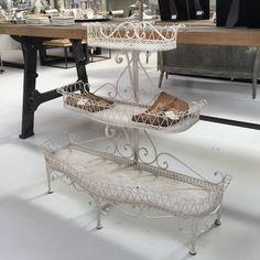 Decorative Wire 3 Shelf Standing Unit – Allissias Attic & Vintage French Style