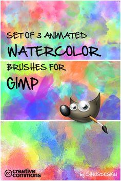 watercolor brush set by ~Chrisdesign on deviantART