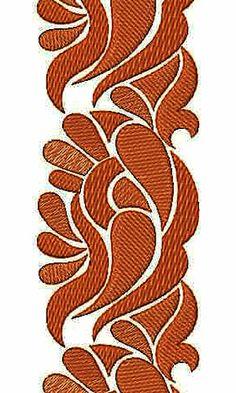 Bed Mattress Bedding Border Embroidery Design