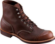 Red Wing Iron Ranger - Amber Harness Leather with FREE Shipping & Returns. These are rugged, leather, iron ranger boots with Goodyear welt