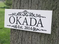 If you're looking for a special Engagement Gift, why not try one of our Wood Signs, they are the perfect Wedding Gift.  Our Outdoor Sign can be for a Man Cave, Anniversary or any Personalized Sign you can think of!
