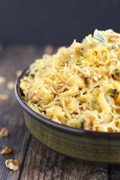 Best Thanksgiving Side Dish Recipes: Microwave Spaghetti Squash from Two Healthy… - Thanksgiving Recipes Thanksgiving Vegetable Sides, Best Thanksgiving Side Dishes, Healthy Thanksgiving Recipes, Healthy Recipes, Healthy Meals, Delicious Recipes, Spaghetti Squash Side Dish Recipe, Stuffed Spaghetti Squash, Butter Squash Recipe