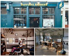 Ruffians, London, Uk... part of our top barber blog WWW.GINGERNUTSSHAVING.COM