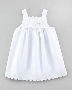 c50210fa108c TARTINE ET CHOCOLAT WHITE COTTON POPLIN SUN DRESS 6MTHS  TartineetChocolat  Poplin Dress