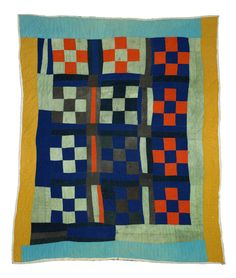Gee's Bend Quilt 6. Moseley RP Nine Patch Pitkin.