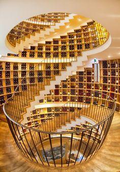 Amazing Architecture Around the World - Part 1 (10 Pics), Extraordinary architecture in LIntendant Wine Shop, Bordeaux, Gironde, Aquitane, France.