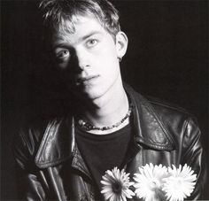 Damon Albarn flowers