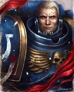 Warhammer Art, Warhammer 40000, Injustice 2 Characters, Fictional Characters, Space Marine, Design Concepts, Emperor, Character Design, Geek Stuff