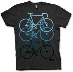 """NYC pushing track bike"" tee"